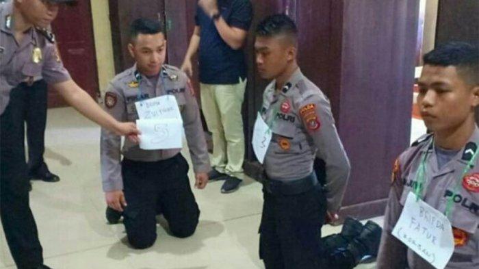 Cemburu Istri Makan Bareng Junior, Bripda Z Hajar Korban hingga Tewas