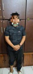Dua tersangka kasus dugaan pengeroyokan di sebuah kafe di Manahan, Banjarsari, Solo.