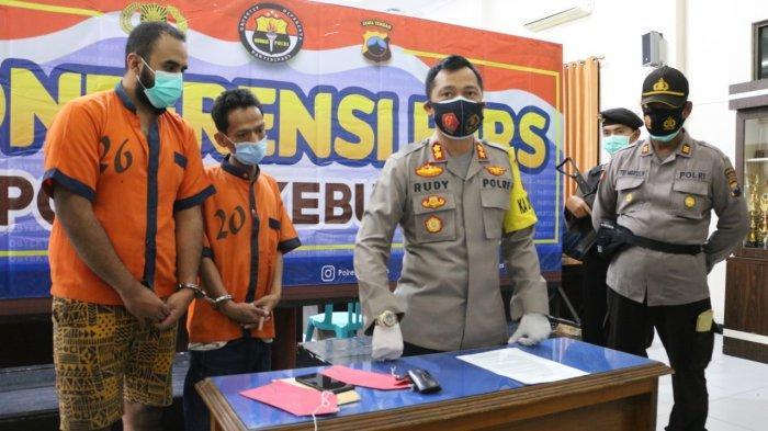 Dua Warga Wonosobo Jadi Tersangka Penipuan Handphone di Gombong Kebumen