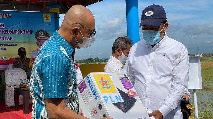 Dukung Electrifying Agriculture, PLN Berikan Bantuan Pemasangan Listrik untuk Irigasi di Karanganyar