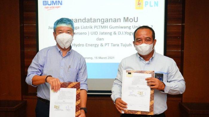 Dukung Pemanfaatan EBT, PLN Tandatangani Perjanjian Jual Beli Tenaga Listrik PLTMH