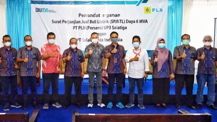 Dukung Sektor Industri, PLN Energize PT Selalu Cinta Indonesia