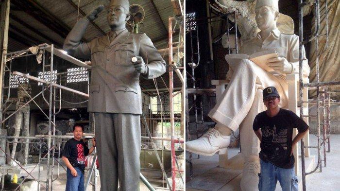 WANSUS Dunadi Pembuat Patung Tokoh Nasional Beberkan Rahasia Angka Keramat Bung Karno