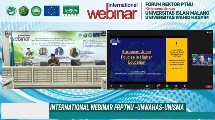 Kata Duta Besar Uni Eropa Soal Potensi Kerja Sama Pendidikan dan Beasiswa Perguruan Tinggi NU
