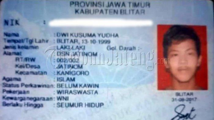 Profil Dwi Kusuma Yudha, Pembunuh Pak Bisri Bos Toko Blitar