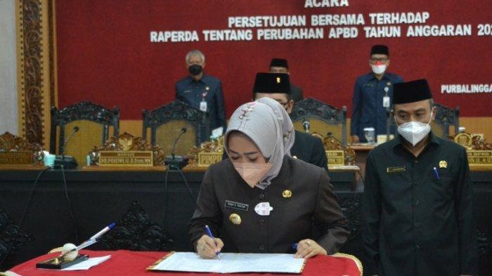 Perubahan APBD 2021 Disetujui, Pendapatan Kabupaten Purbalingga Rp 1,98 Triliun