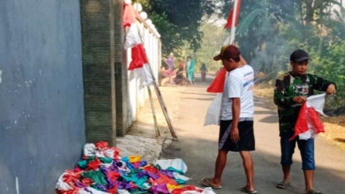 Pemkab Pekalongan Imbau Warga Pasang Bendera Merah Putih Satu Bulan Penuh