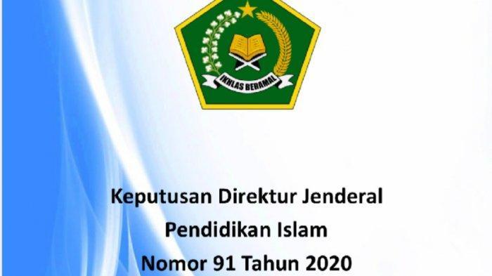 Edaran Baru Dirjen Pendidik Islam, Pendidikan Al Quran Kini Jadi Lembaga