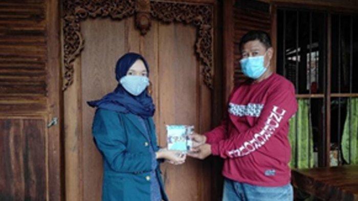 Cegah Covid-19, Mahasiswa KKN Undip Ajari Warga Bikin Hand Sanitizer Standar WHO