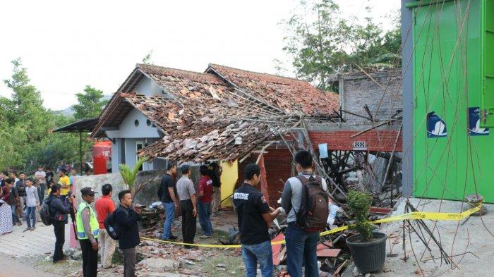 Eko Ditangkap Polisi setelah Ledakan Dahsyat Itu Meluluhlantakkan 23 Rumah