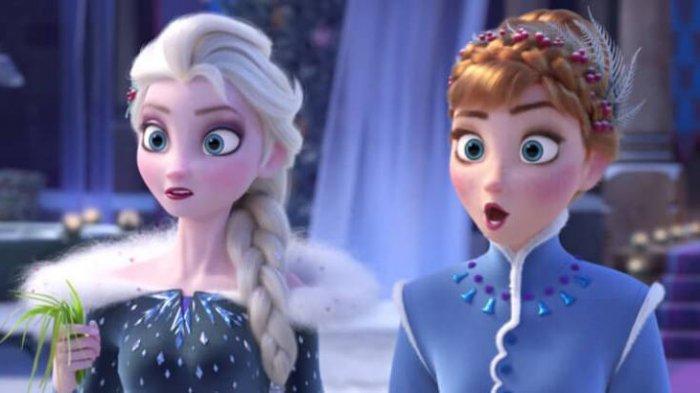 Sinopsis Film Frozen 2 Suara Misterius Memanggil Elsa Ke Utara Tayang Di Bioskop Hari Ini Tribun Jateng