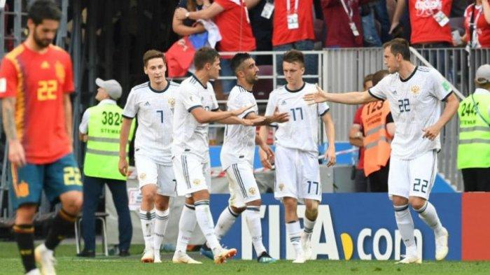Fakta-fakta Laga Rusia vs Spanyol: Dari Gol Bunuh Diri Hingga Pemain Tertua
