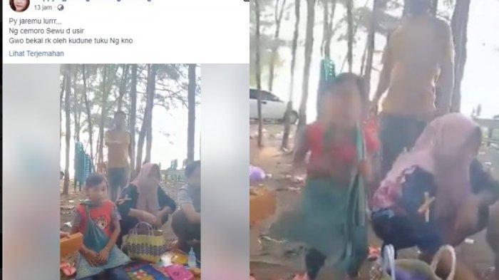 Viral Emak-emak Wisatawan Diusir dari Pantai Karena Bawa Bekal Sendiri