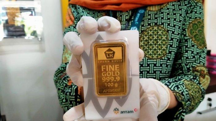 Harga Emas Antam di Semarang Hari ini Anjlok Rp 11.000 Per Gram, Ini Daftar Lengkapnya