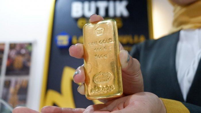 Harga Emas Antam di Semarang Jumat 19 Maret, Menurun Rp 10.000 Berikut Daftar Lengkapnya