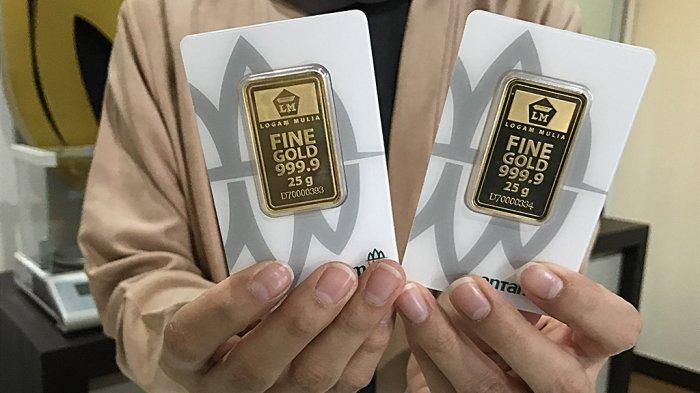 Hari Ini Harga Emas Antam  24 Karat Turun Rp 1.000, Simak Rinciannya