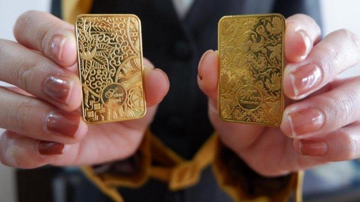 Harga Emas Antam di Semarang Hari ini Senin 3 Mei 2021 Turun Rp 1.000, Berikut Daftar Lengkapnya