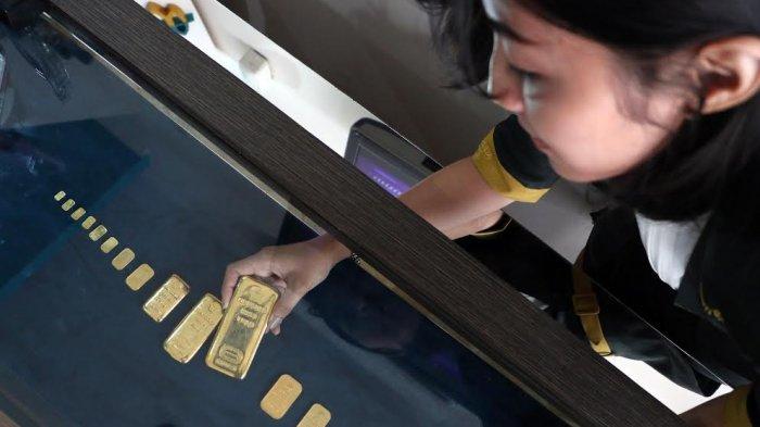 Harga emas Antam Turun, Benarkah Berpotensi Rugi 11,78% Bila Beli 7 Hari Lalu?