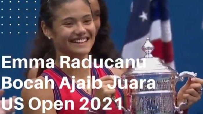 Bocah Fenomenal Juara US Open 2021, Emma Raducanu Dapat Ucapan Selamat dari Ratu Elizabeth II