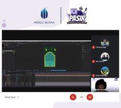 Era Digital Di Tengah Pandemi Mahasiswa Universitas Mercubuana Jakarta Berikan Edukasi Motion Graphic
