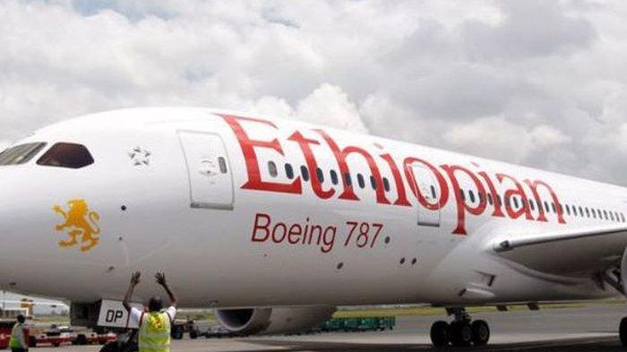 Pesawat Ethiopian Airlines Pengangkut 157 Orang Terjatuh Setelah 10 Menit Lepas Landas