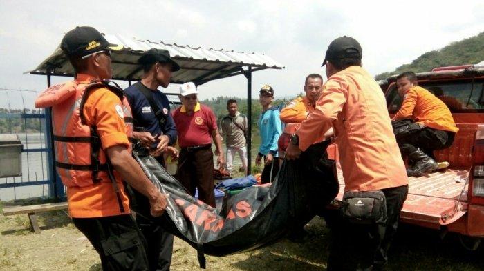 Jasad Lelaki yang Menceburkan Diri ke Waduk Cacaban Slawi Ditemukan