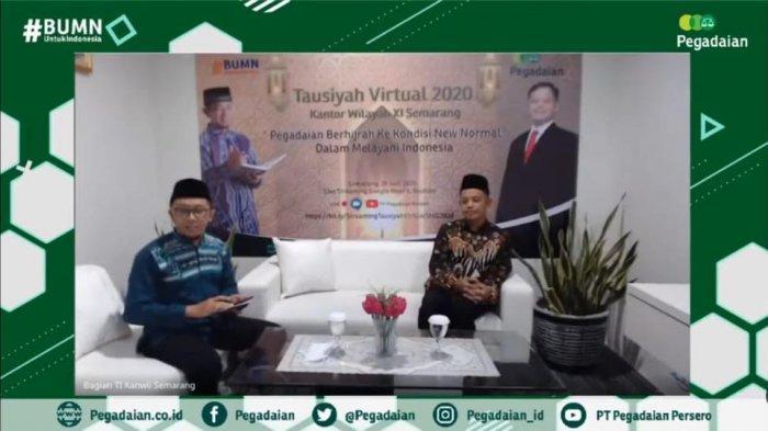 Halal Bihalal, PT Pegadaian Kanwil XI Semarang Ajak Pegawai dan Nasabah Hijrah ke New Normal