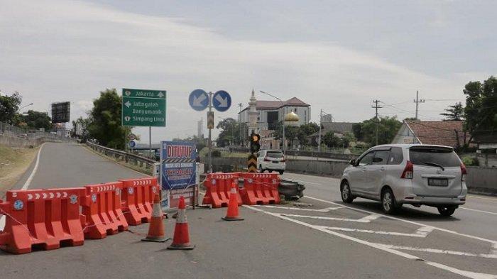 BERITA FOTO : 27 Titik Exit Tol di Jawa Tengah Di Tutup
