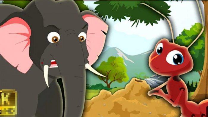 Fabel Gajah dan Semut Kecil
