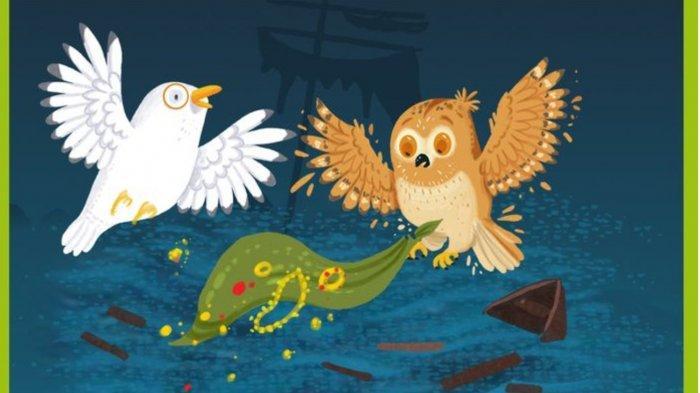 Fabel Persahabatan Burung Camar dan Burung Hantu