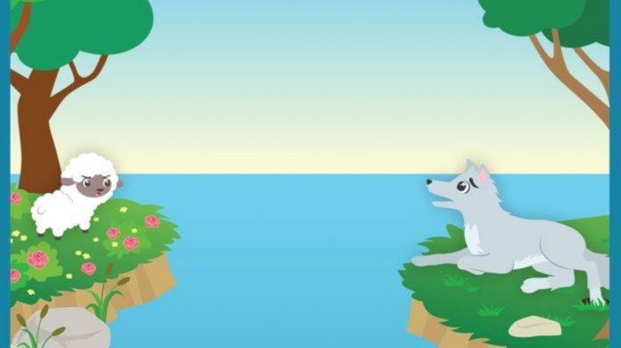 Fabel Serigala dan Domba Kecil