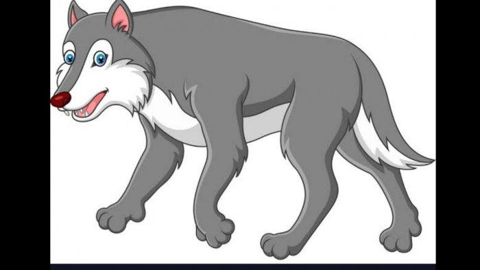 Fabel Serigala yang Bodoh