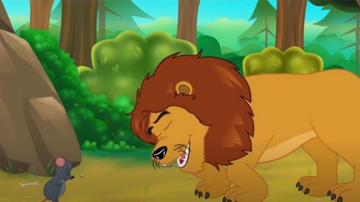 Fabel Singa dan Tikus Penakut