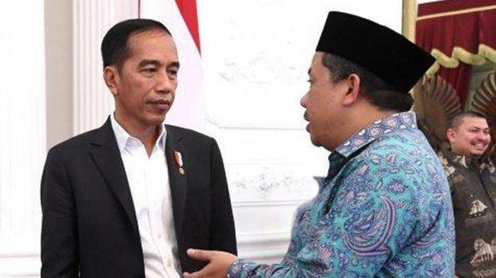 Fahri Hamzah Bertemu Presiden Jokowi di Istana, Jkw Mengaku Kangen Dikritik FH