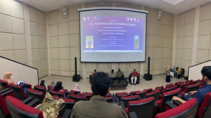 Laboratorium Dakwah FDK UIN Walisongo Selenggarakan Pelatihan Pranatacara dan Pamedarsabda