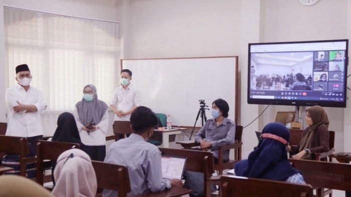 Rektor Apresiasi Pembelajaran Tatap Muka Terbatas Berbasis Blended Learning FITK UIN Walisongo