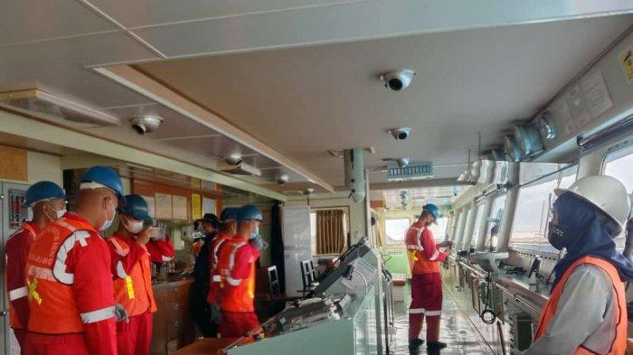 Fakultas Kemaritiman Unimar Amni Gelar Kunjungan Kapal, Latih Taruna Masuk Dunia Kerja
