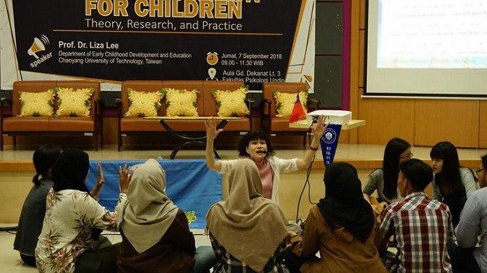 Hubungan Musik dalam Pendidikan Anak Usia Dini di Kuliah Umum Fakultas Psikologi Undip