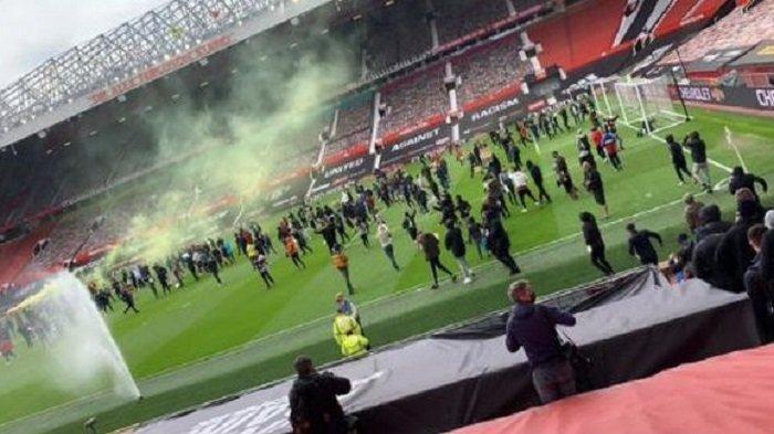 Pernyataan Resmi Kubu Manchester United Setelah Suporter Ngamuk dan Menerobos Old Trafford
