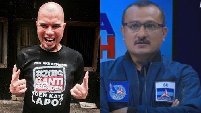 Ahmad Dhani Ditahan, Ferdinand Hutahaean: Bangga Melihat Ketegarannya