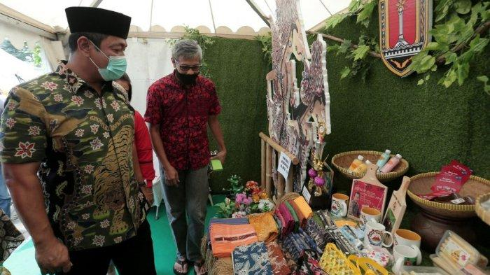 Wali Kota Semarang, Hendrar Prihadi menghadiri Festival Pasar Sehat UMKM 2021 beberapa waktu lalu.