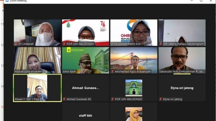 UIN Walisongo Semarang dan Ombudsman Jateng Samakan Persepsi