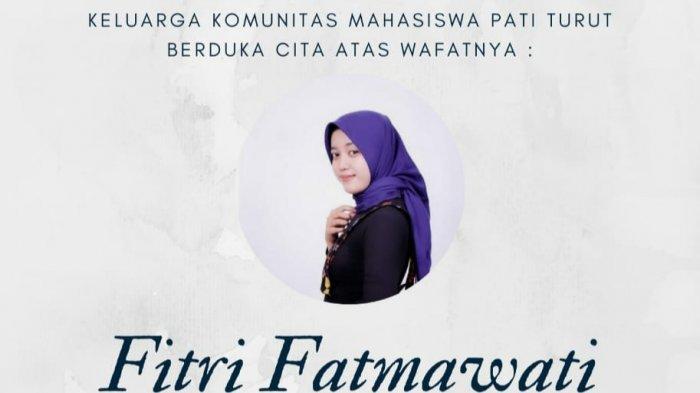 Fitri Fatmawati Meninggal Kecelakaan di Bandungan, Komunitas Mahasiswa Pati Berduka