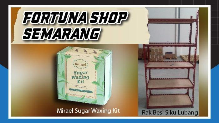 Fortuna Shop Semarang Sedia Mirael Sugar Waxing Kit