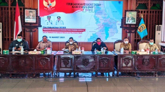 Forum Gabungan Perangkat Daerah Kabupaten Pati, Pemulihan Ekonomi Pascapandemi jadi Prioritas