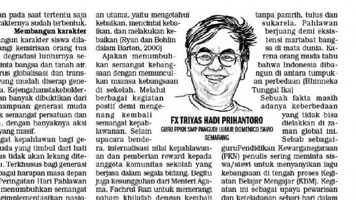 Pahlawan dan Nasionalisme Pemuda