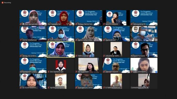 Pengabdian Masyarakat Prodi Matematika dan IPA Unisvet Gelar Workshop Literasi Digital bagi Guru SD