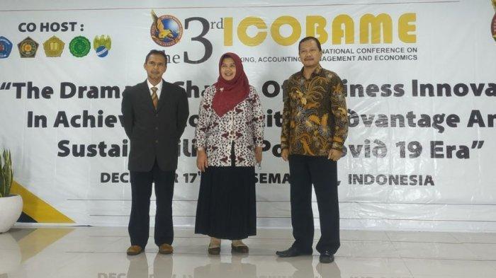 Dorong Dosen Tingkatkan Kualitas Penelitian, STIE Bank BPD Jateng Gelar ICOBAME