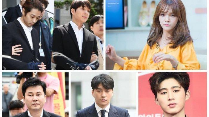 Enam Artis Korea Ini Mundur dari Dunia Hiburan Setelah Terlibat Skandal
