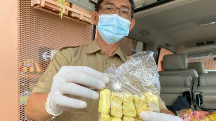 Hasil Sidak di Pasar Trayeman Slawi dan Pasar Banjaran Ditemukan Produk Berformalin dan Boraks
